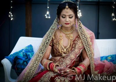Wedding makeup in Lucknow by MJ StudioStudioJaiswal-3