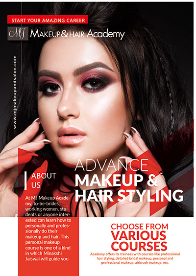 Certificate in Bridal Makeup & Hair Styling Course (2 Weeks